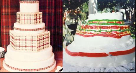 20 of the Most Half-Baked Wedding Cake Wrecks