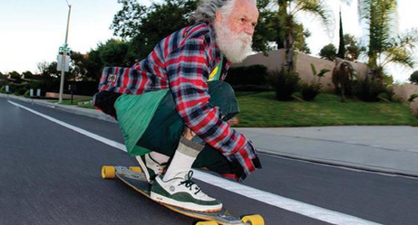 Elderly People on Skateboards Are the Coolest People on Earth