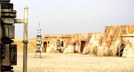 'Star Wars' Set Still Standing in the Sahara...How Long Will It Last?
