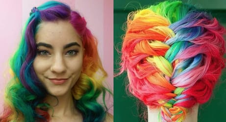 OK, You Need to Drop Everything and Dye Your Hair Rainbow