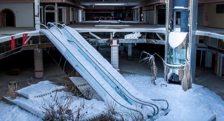 These Photos of Abandoned Malls Will Make You Weep for Your Youth