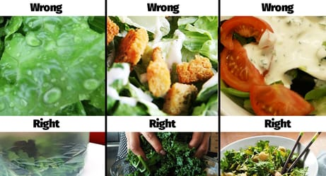 Yes, You're Doing Salad All Wrong