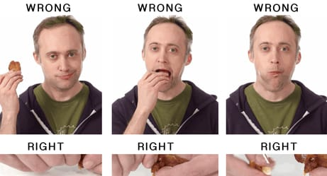 That Way You're Eating Hot Wings Is All Wrong