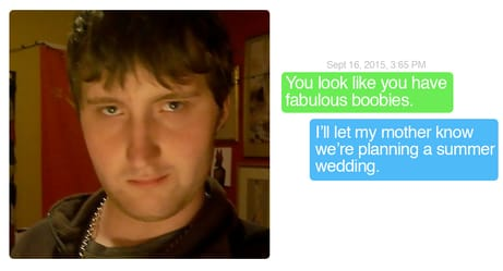 Hilarious Responses to Creepy Messages