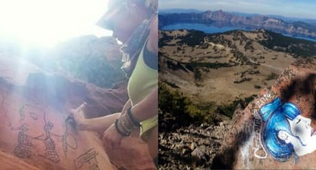 This National Park Vandal Was Out Of Control Until The Internet Flexed Its Muscles