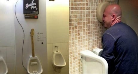 Are These The Greatest Urinals In The Universe?