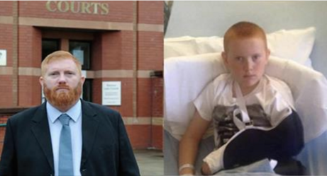 This Father Had To Appear In Court For Confronting The Bully Who Broke His Son's Arm