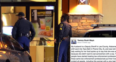 This Is What Happened After A Taco Bell Employee Refused To Serve A Police Officer