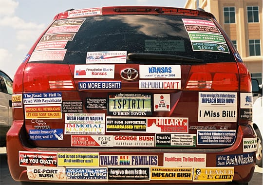 Make A Political Bumper Sticker