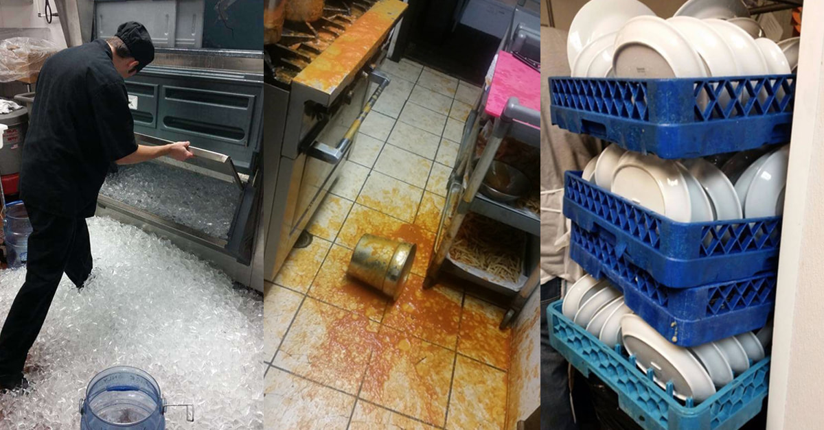 These Pictures Will Infuriate Anyone Who's Ever Worked In A Kitchen