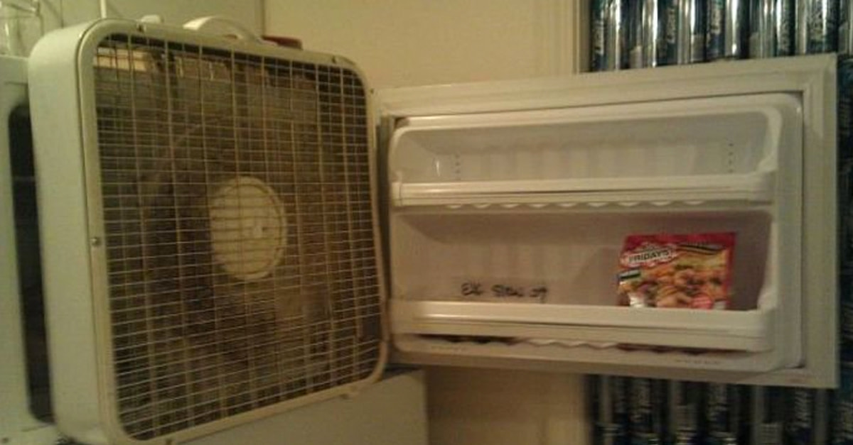 The Struggle Without A/C Is Real