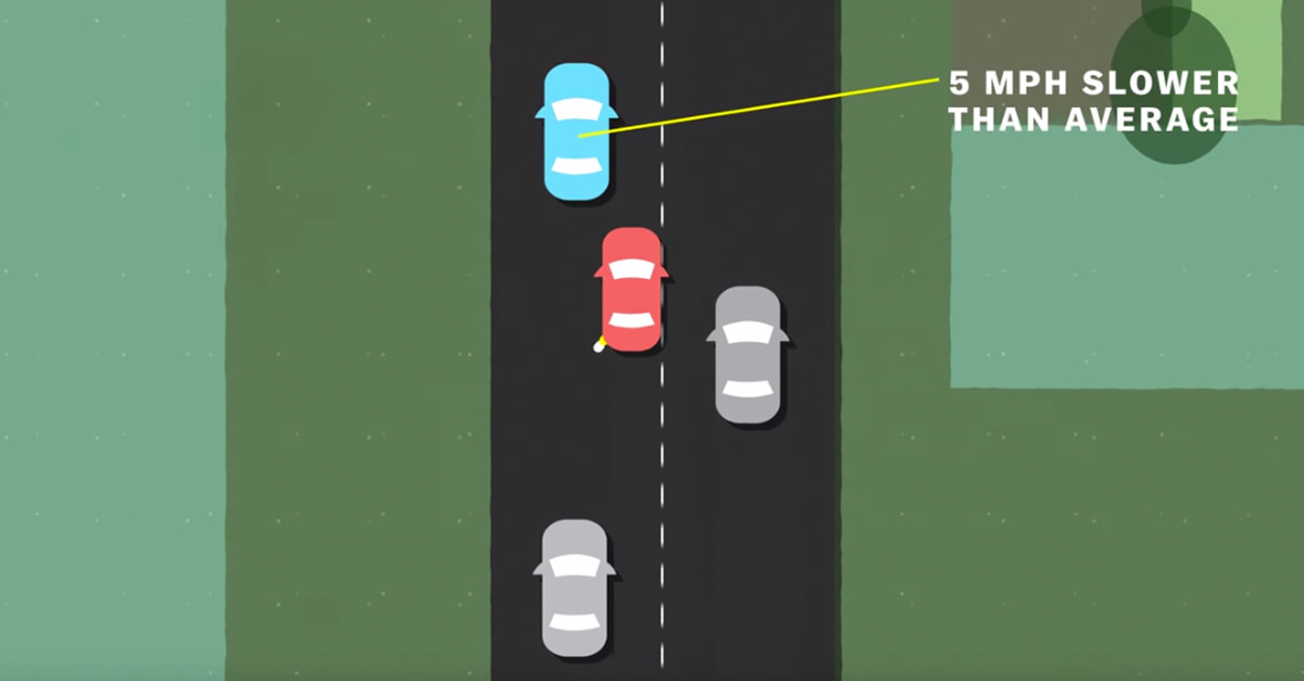 This Video Proves That Driving Slow In The Left Lane Is Dead Wrong