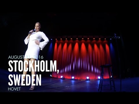 Watch Amy Schumer Destroy A Heckler In Stockholm