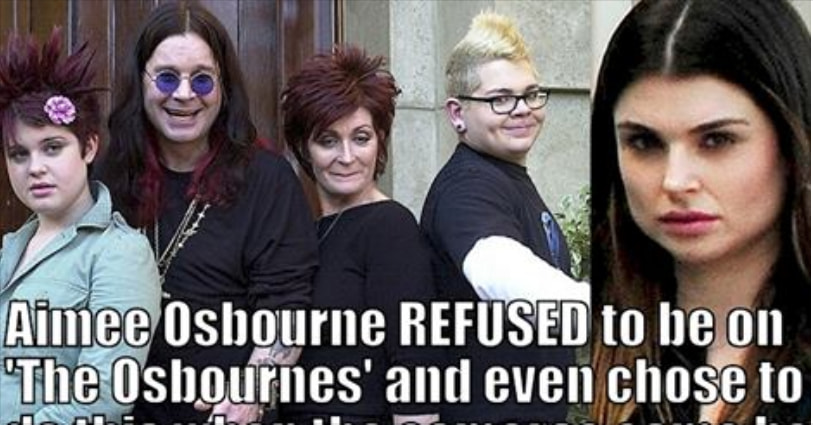 Ozzy Osbourne Has Another Daughter, And Here's Why She Refused To Be on 'The Osbournes'