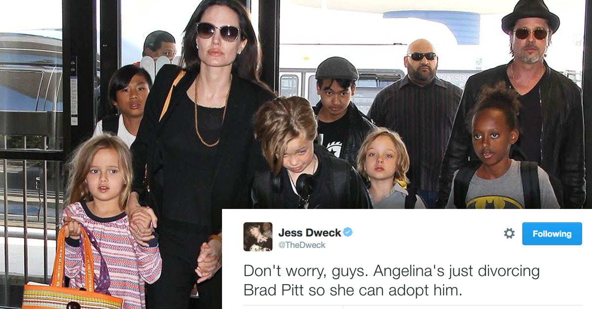 The Funniest Tweets About The Brangelina Breakup