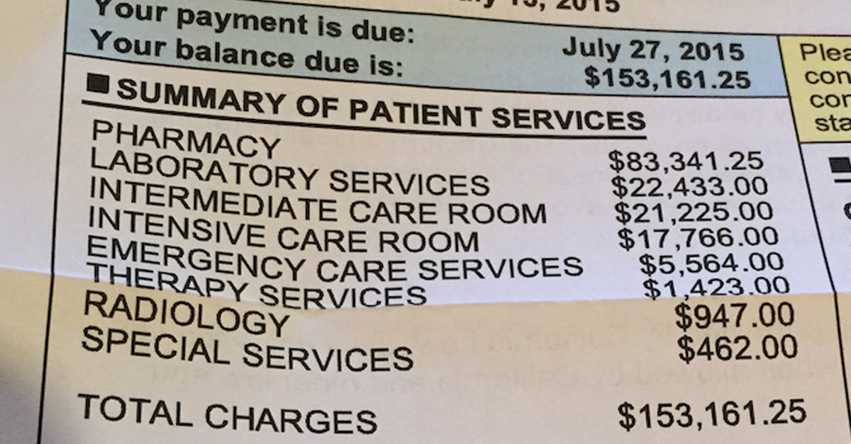 This Is Exactly What Is Wrong With America's Health Care System