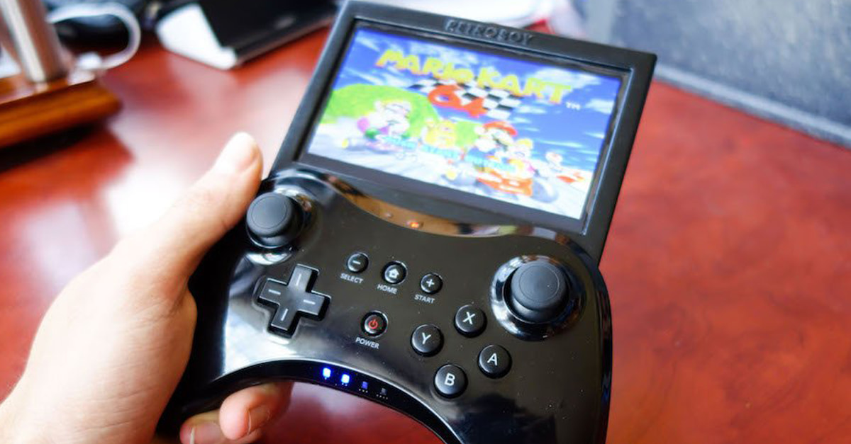 This Guy Created His Own Portable Retro Gaming Console, And You Can Too