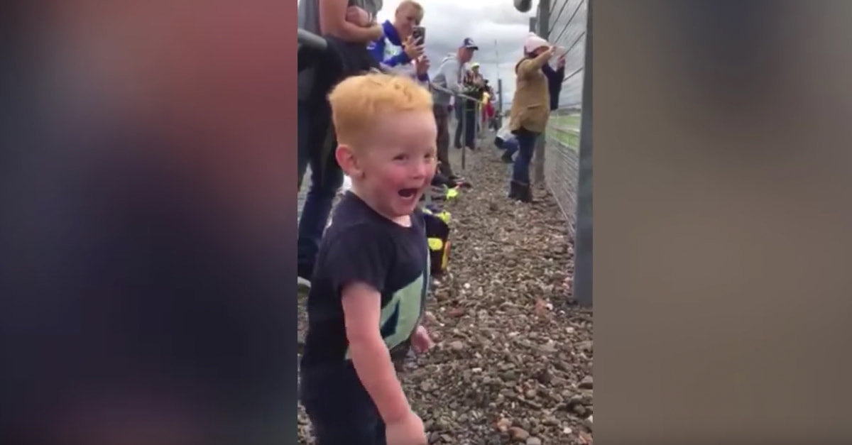 No One Loves Motocross More Than This Kid
