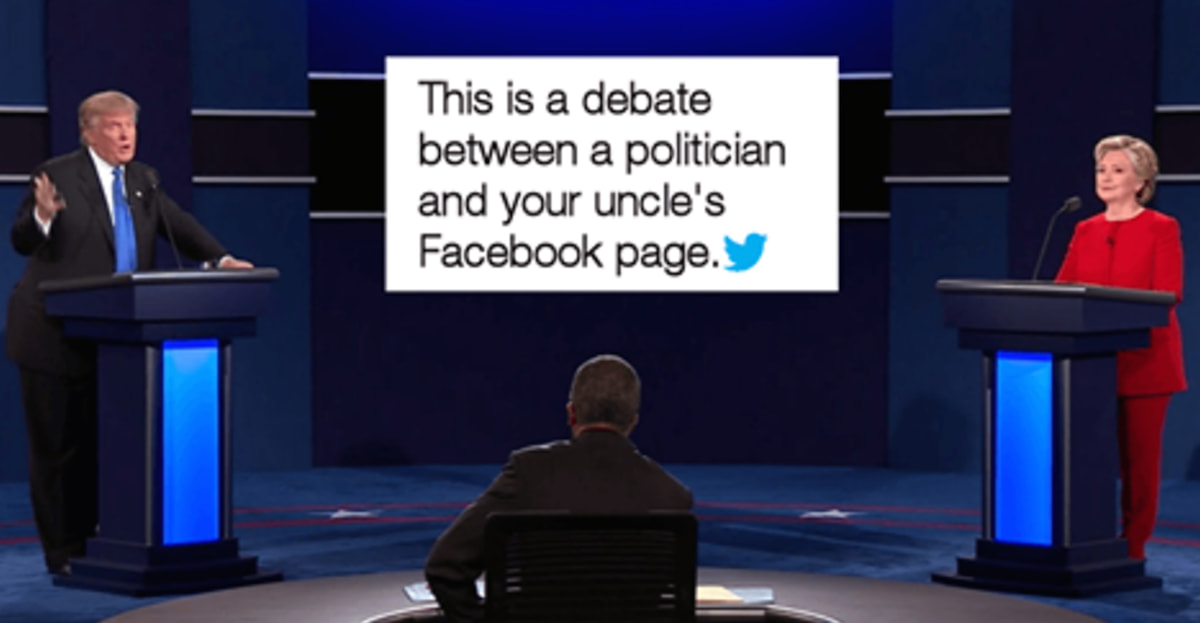 The Most Hilarious Tweets About The First Presidential Debate Of 2016