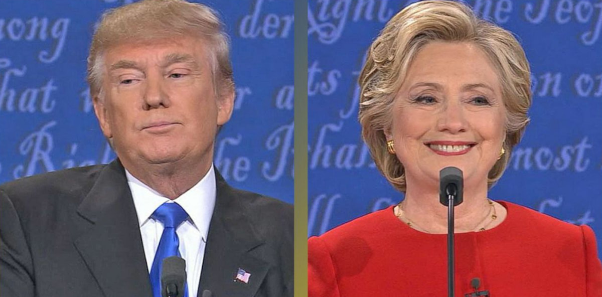 The Internet's Reaction To The First Debate Between Hillary Clinton And Donald Trump