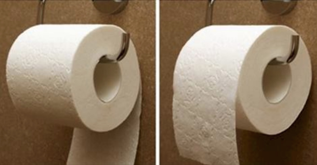 There Is A Right Way To Hang Toilet Paper, According To The Original 1891 Patent