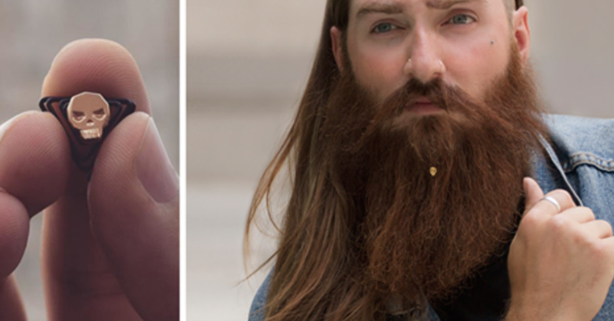 Jewelry For Beards Is Officially A Thing, Because Millennials
