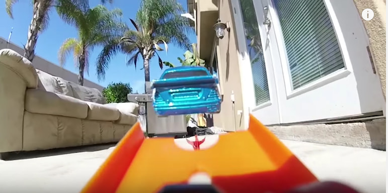 Slo-Mo Hot Wheels Action Stunts Are Better Than Any Hollywood Movie