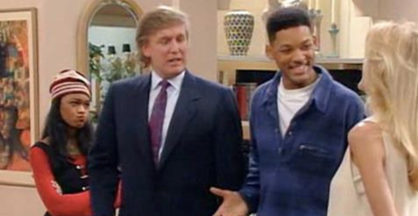 The Producers Of 'The Fresh Prince Of Bel-Air' Revealed What It Was Like To Have Trump On The Show