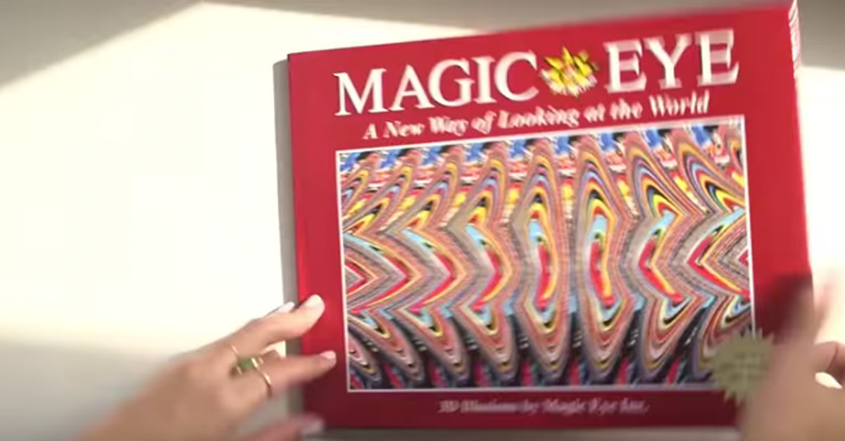 'Magic Eye' Optical Illusion From The '90s Finally Explained