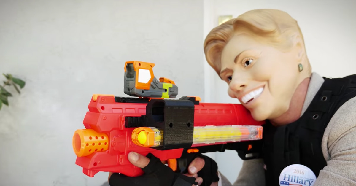 Trump Vs. Clinton Nerf War Is How Elections Should Really Be Won