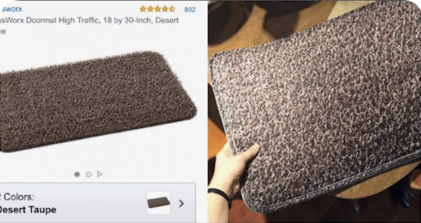 This Woman Thought She Was Ordering A Doormat On Amazon, But Got This Instead