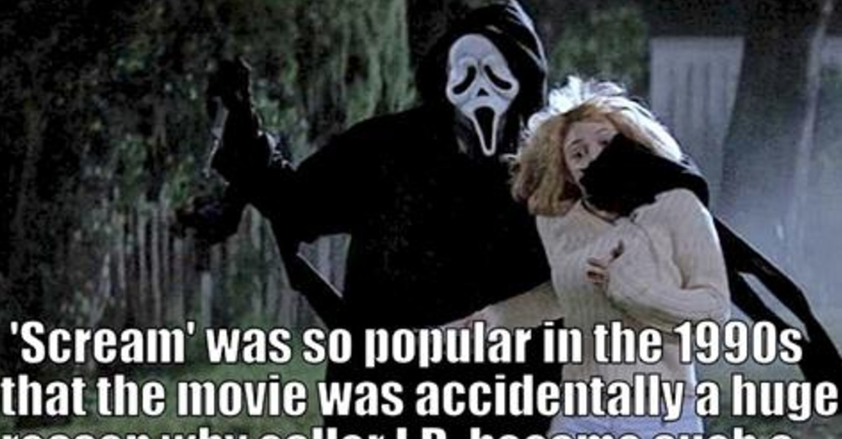 11 Messed-Up True Facts About The 'Scream' Movies