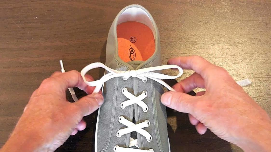 You've Probably Been Tying Your Shoes Wrong Your Whole Life