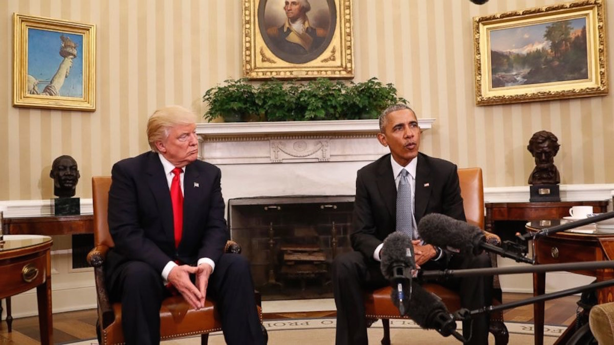 These Are The Biggest Differences Between Obama And Trump