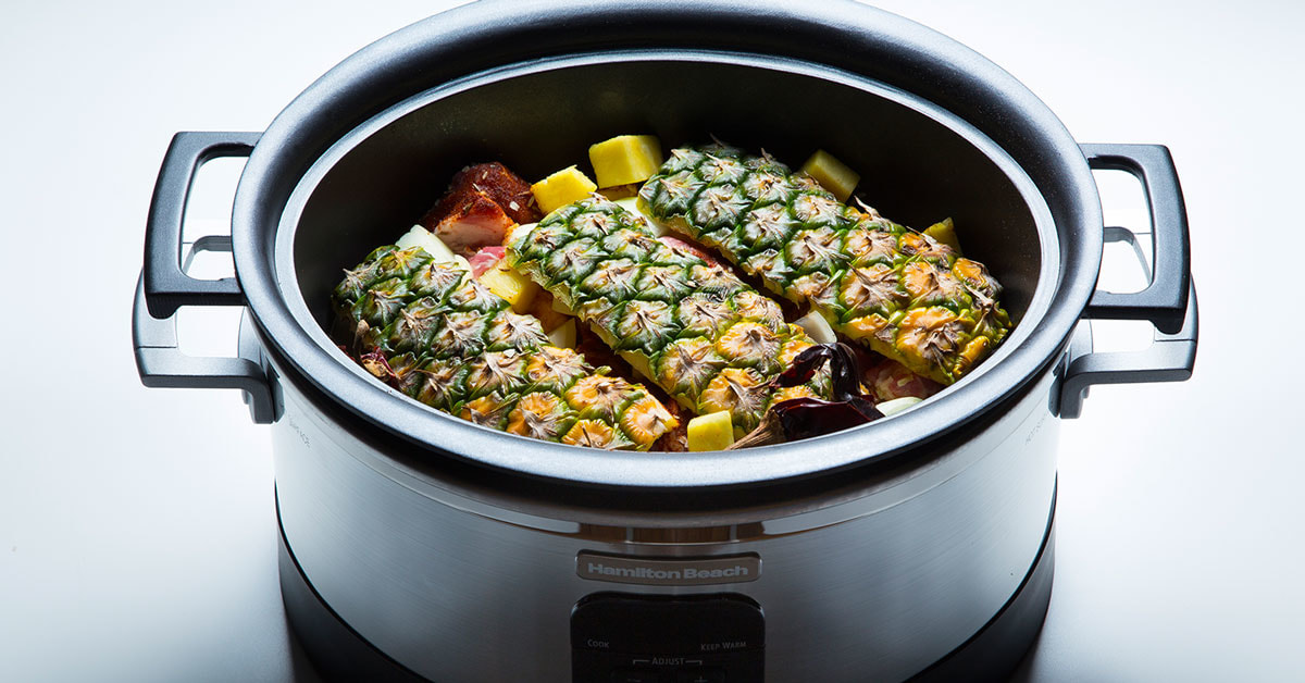 Don't Get Caught Making This One Big Slow Cooker Mistake When Making Christmas Dinner