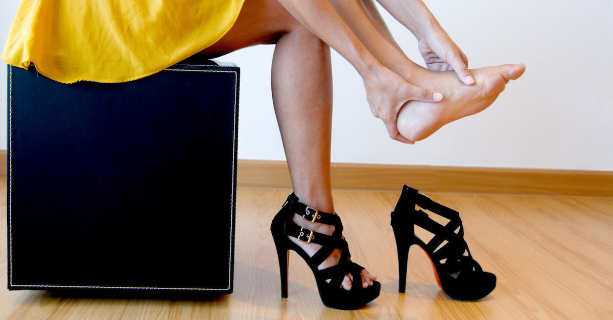 After She Got A Blister From Wearing High Heels, Doctors Broke The Bad News To Her