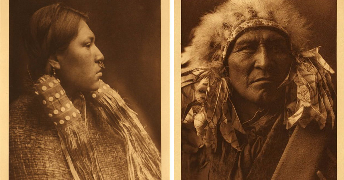 These Rare Photos Reveal How Native Americans Lived 100 Years Ago