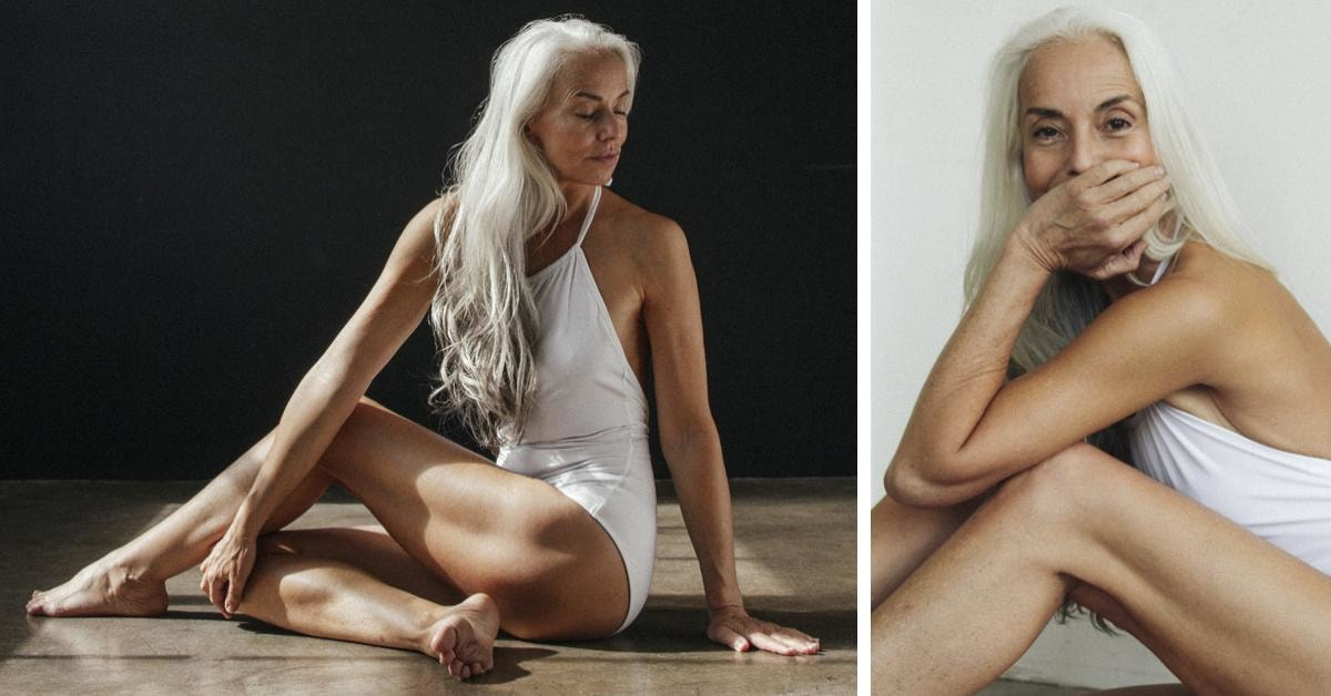 This 60-Year-Old Model Is Showing The World That You Don't Have To Be Young To Look Good In A Swimsuit