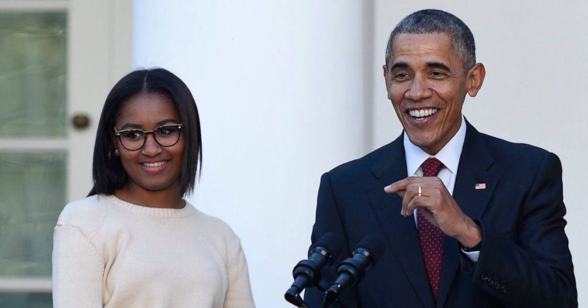 The Real Reason Sasha Obama Was Absent During Her Dad's Presidential Farewell