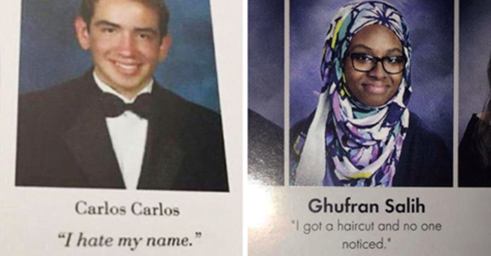 Funny Yearbook Names: 13 Hilarious Yearbook Quotes That Will Go Down In History