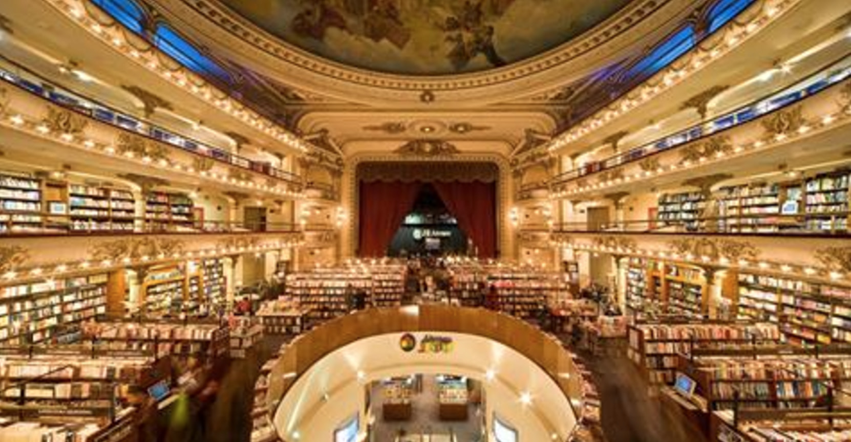 This 100-Year-Old Theater Is Now A Bookstore, And It's Magical AF
