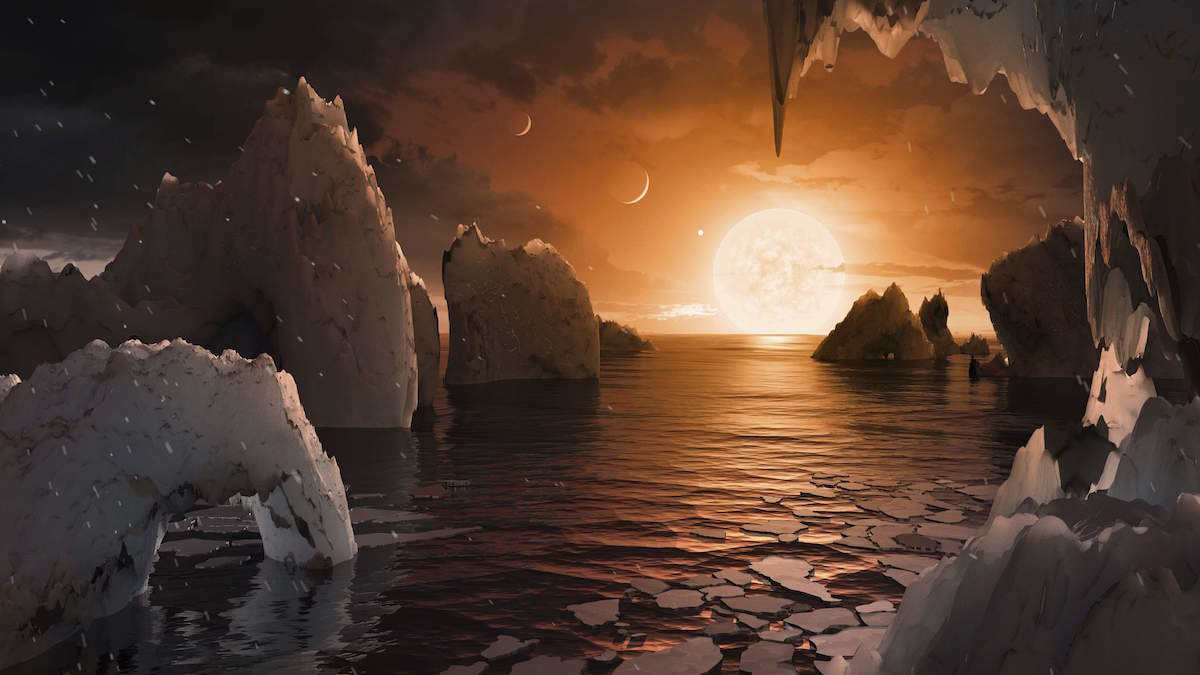 Seven Earth-like Planets Were Just Discovered Orbiting A Nearby Star