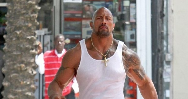 Check Out The Rock's Cousin, Who Looks Just Like Him And Is His On-Screen Stunt Double