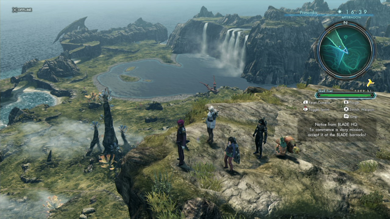 Guff Review Xenoblade Chronicles X Get Ready To Save Humanity