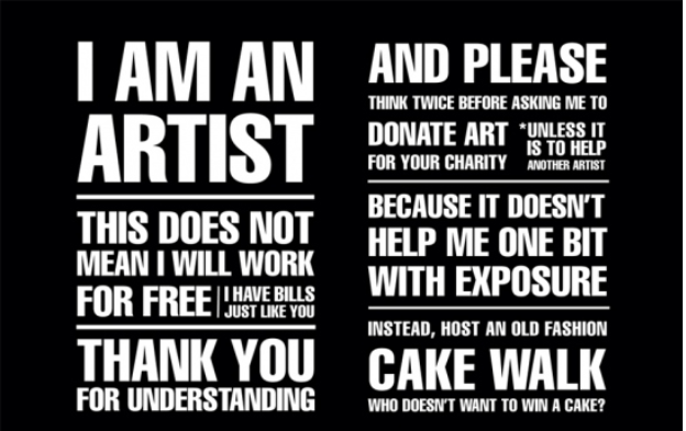 should artists work for free  lena dunham seems to think
