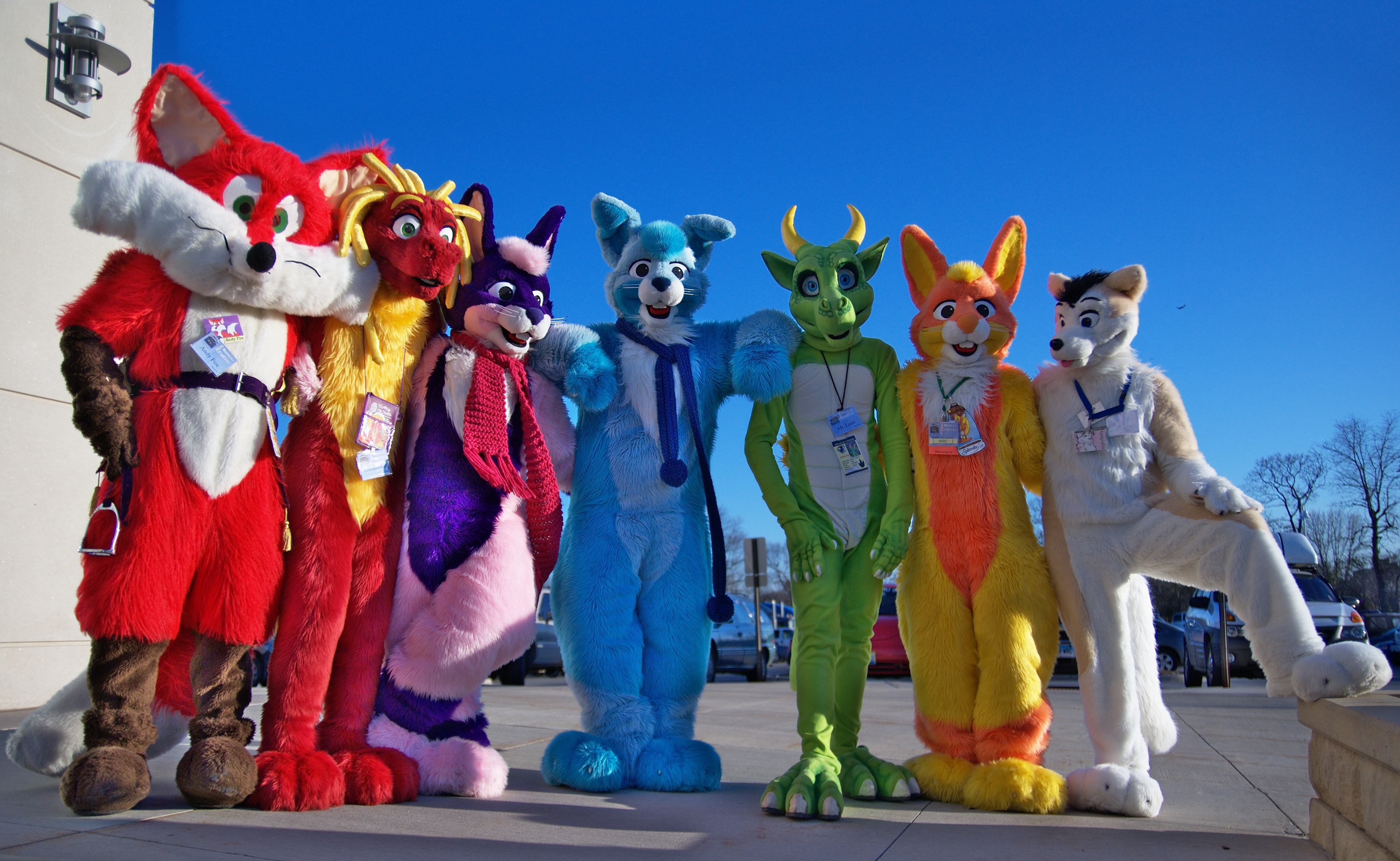 As silly as they may seem, therefore, furries represent a uniquely bizarre  intersection between fandom culture, sexual kink and identity politics.