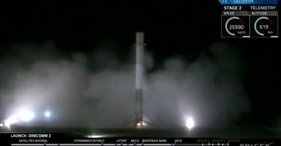 Watch as SpaceX Successfully Lands It's Falcon 9 After Traveling to Space and Back!