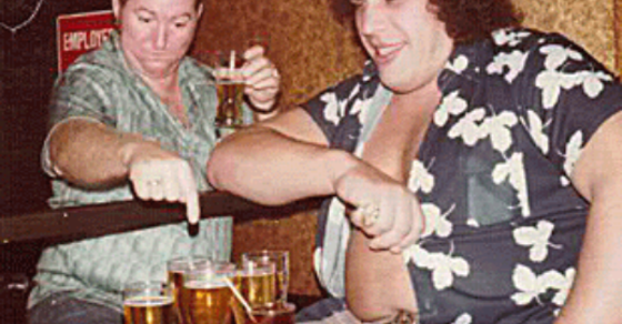 The most legendary andre the giant drinking stories of all time