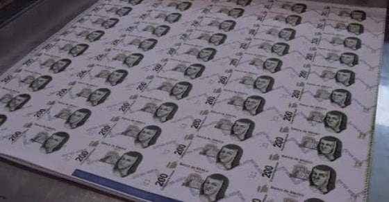 Inside Mexico's Paper Money Making Factory