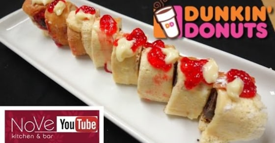 Master Sushi Chef Makes Sushi out of Dunkin' Donuts